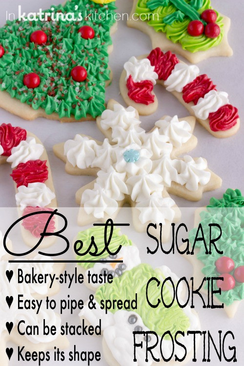 Best Christmas Cutout Cookies  Christmas Cookie Frosting