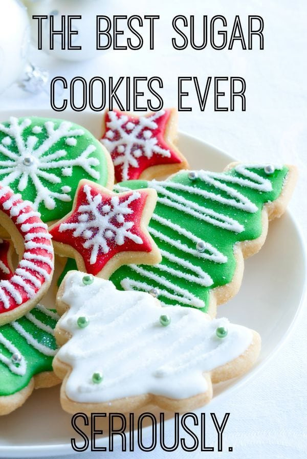 Best Christmas Cutout Cookies  29 Easy Christmas Cookie Recipe Ideas & Easy Decorations