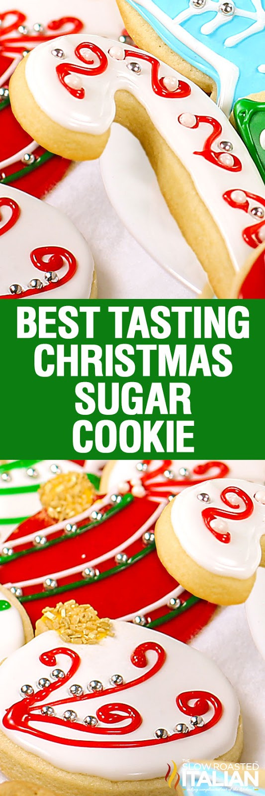 Best Christmas Cutout Cookies  Christmas Sugar Cookies With NEW VIDEO