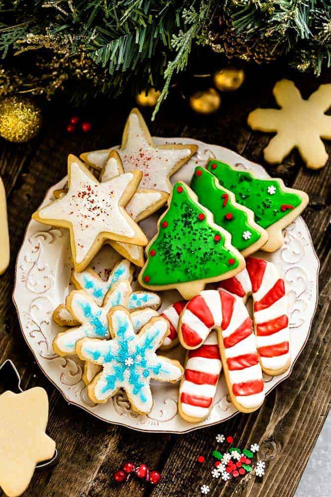 Best Christmas Cutout Cookies  The Best Sugar Cookie Recipe for Cut Out Shapes