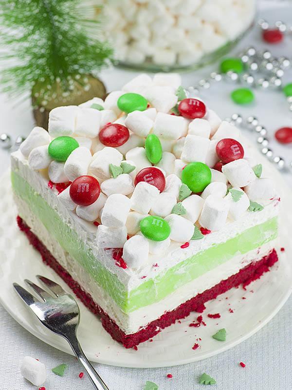 Best Christmas Desserts 2019  Christmas Lasagna OMG Chocolate Desserts