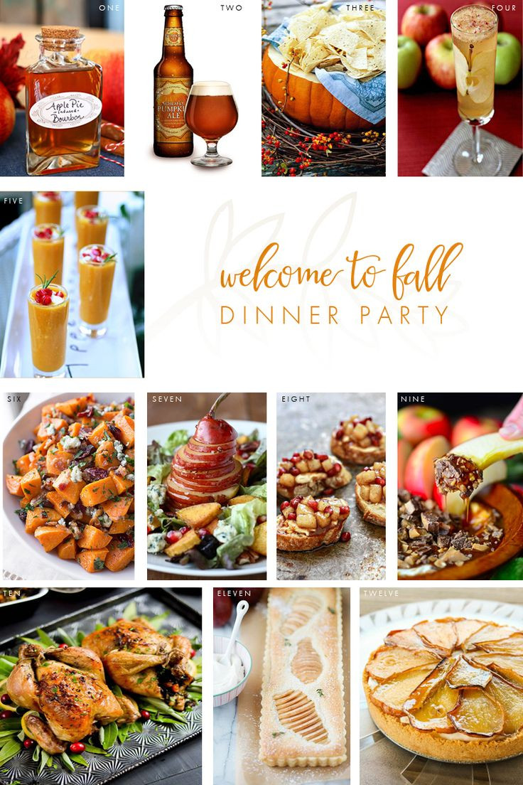 Best Fall Dinners  Top 25 ideas about Fall Dinner Parties on Pinterest