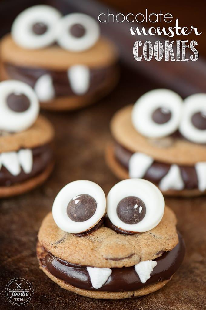 Best Halloween Cookies  50 of the BEST Halloween Treats A Dash of Sanity