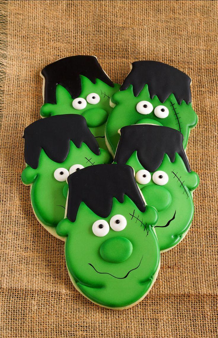 Best Halloween Cookies  Best 25 Halloween cookies decorated ideas on Pinterest
