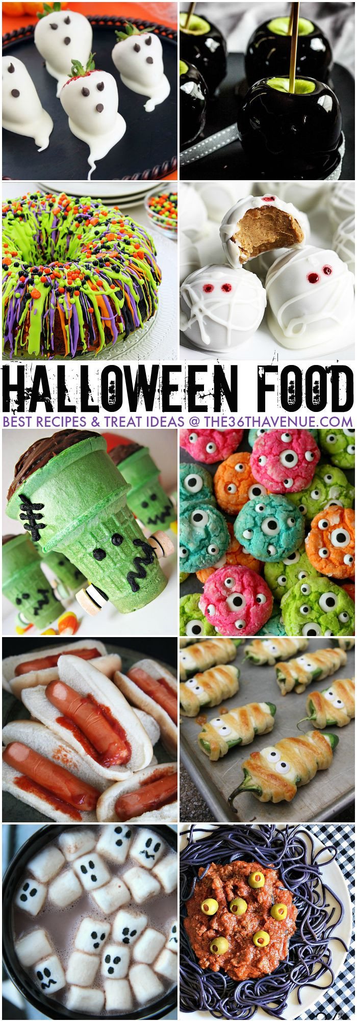 Best Halloween Desserts  Halloween Best Treats and Recipes The 36th AVENUE
