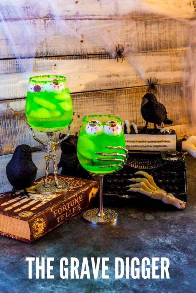 Best Halloween Drinks  Grave Digger Halloween Cocktails Recipe