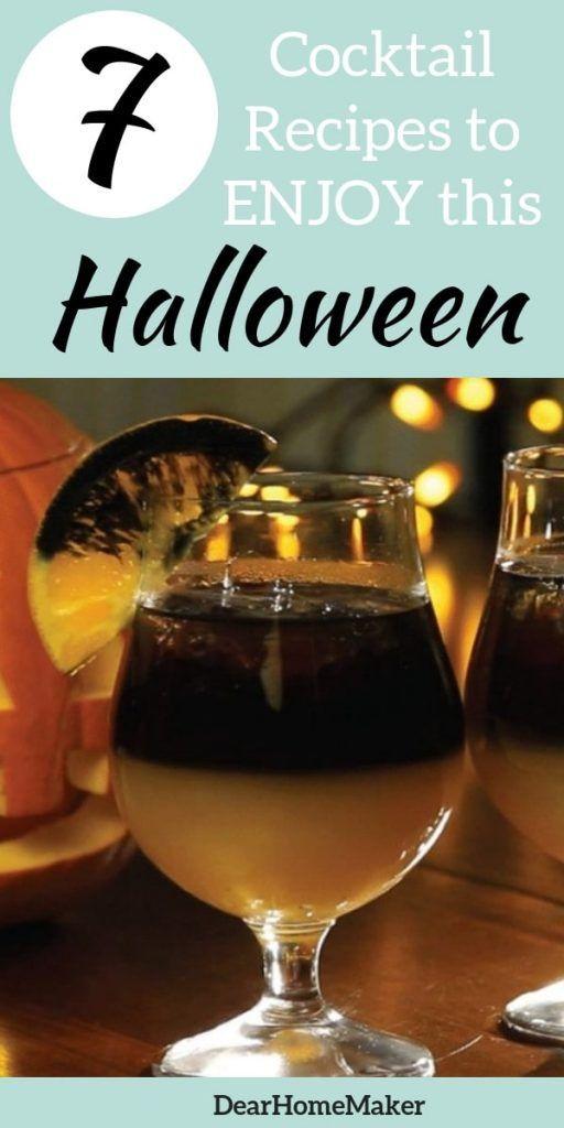 Best Halloween Drinks  7 BEST Halloween Cocktail Recipes to enjoy this season