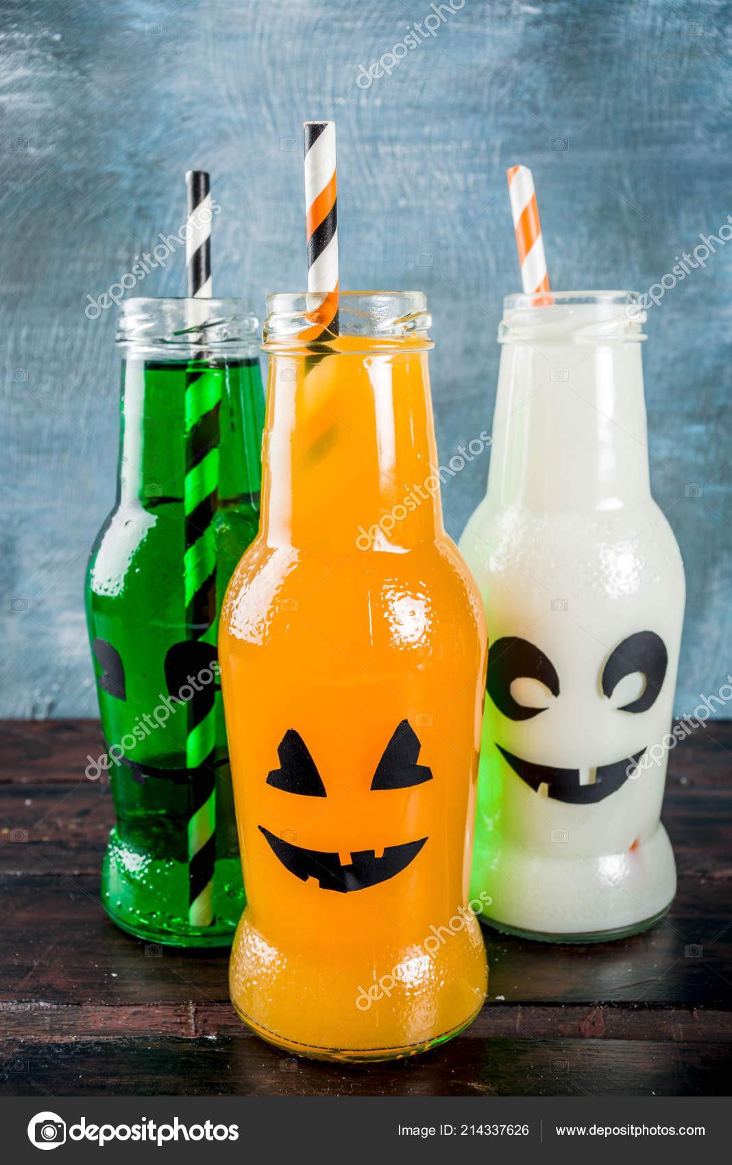 Best Halloween Drinks  Party Drinks Halloween Three Milk Juice Monster Bottle