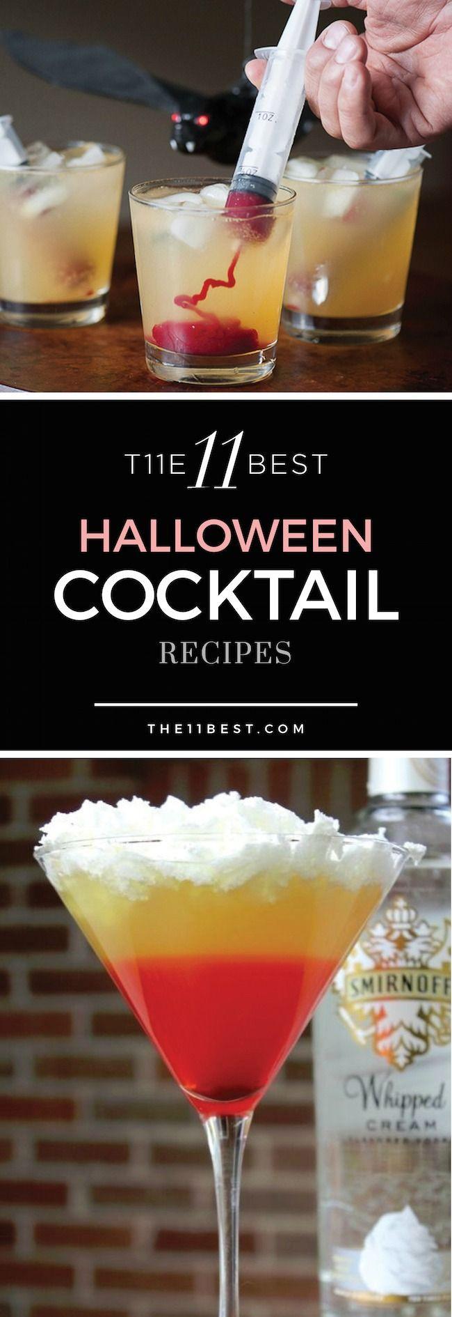 Best Halloween Drinks  The 11 Best Halloween Cocktail Recipe Ideas