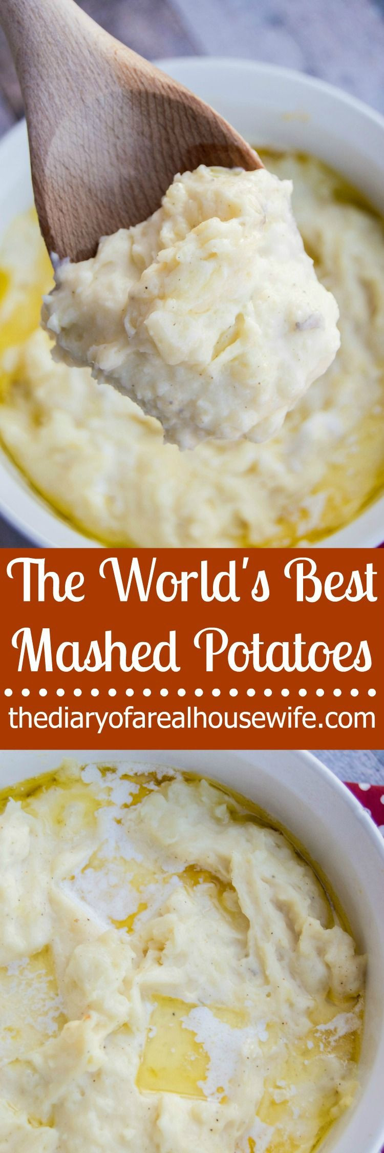 Best Mashed Potatoes For Thanksgiving  If you need a good recipe for Thanksgiving you will want
