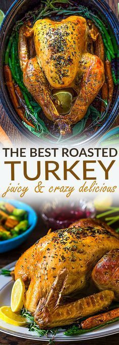 Best Roast Turkey Recipe For Thanksgiving  Best 25 Roasted turkey ideas on Pinterest