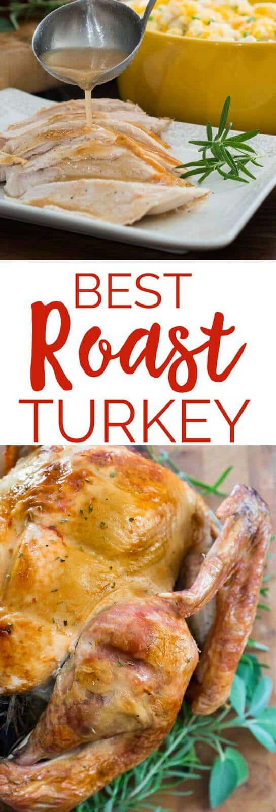Best Roast Turkey Recipe For Thanksgiving  Best Roast Turkey Recipe No Fail Turkey for Thanksgiving