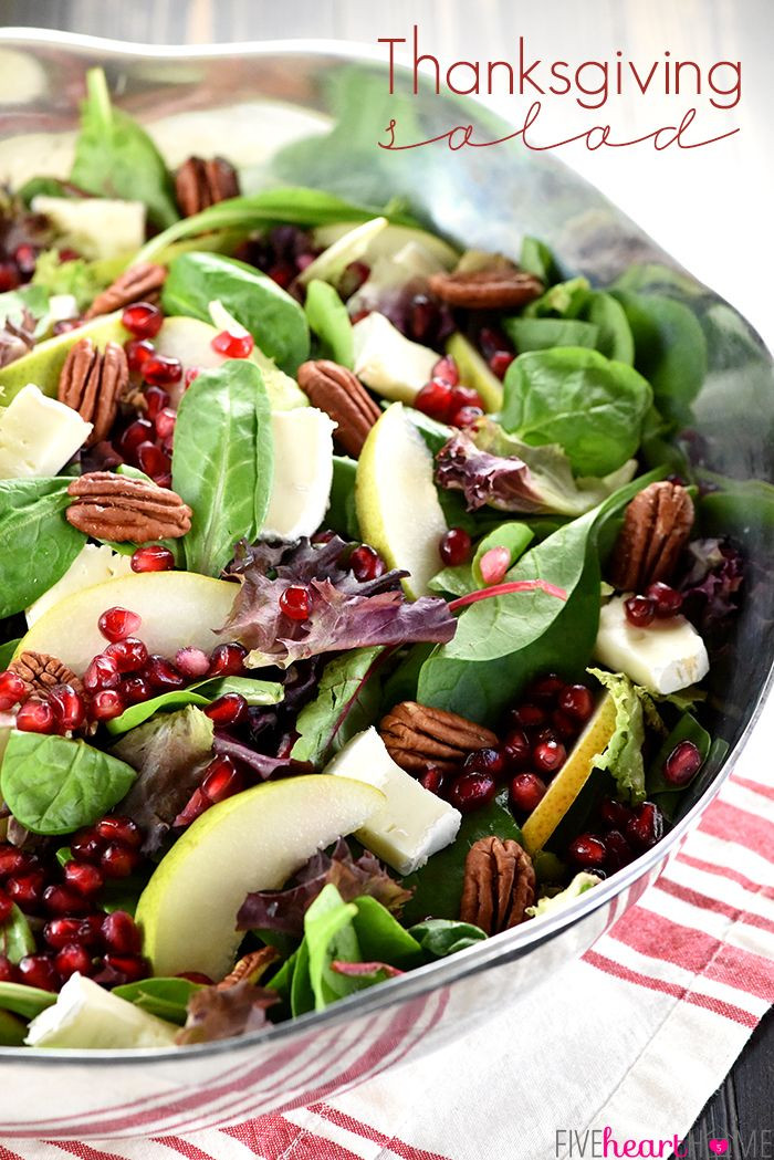 Best Salads For Thanksgiving  Best 25 Thanksgiving salad ideas on Pinterest