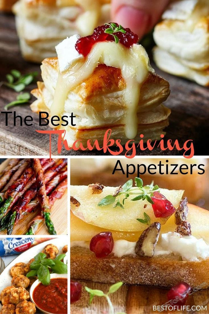 Best Thanksgiving Appetizers  Best Thanksgiving Appetizers for an Amazing Meal The