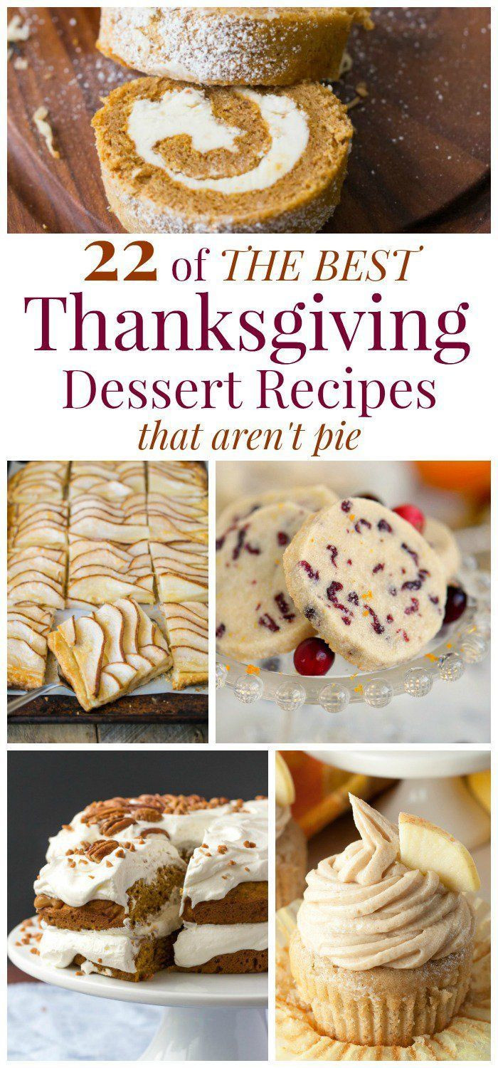 Best Thanksgiving Dessert Recipes  17 Best images about Thanksgiving on Pinterest
