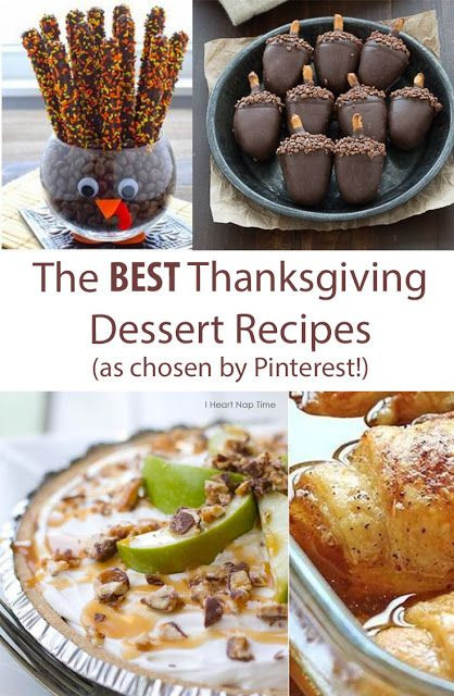 Best Thanksgiving Dessert Recipes  The Best Thanksgiving Dessert Recipes iFit