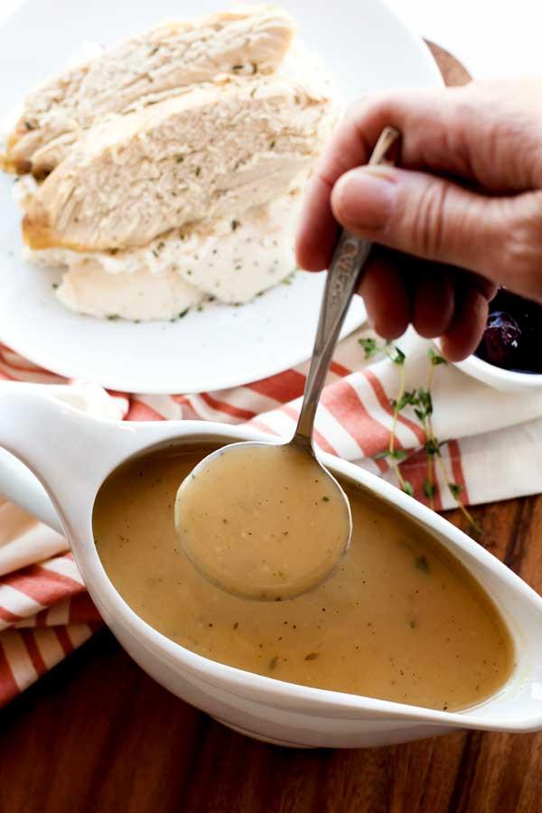 Best Thanksgiving Gravy Recipe  Turkey Gravy • Food Folks and Fun