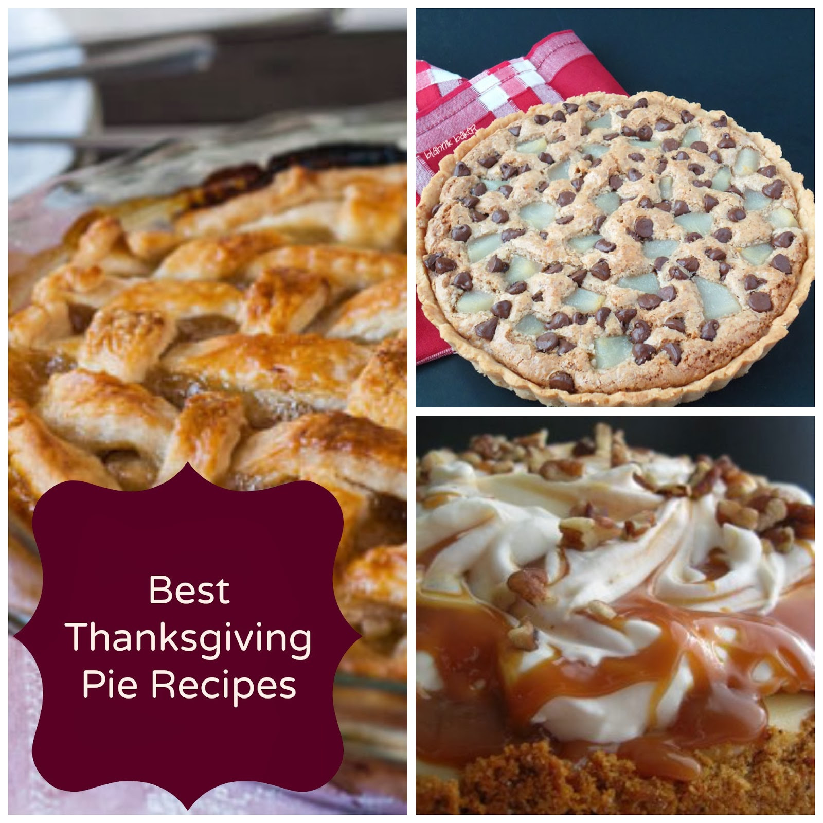Best Thanksgiving Pie Recipes  Decorating Pennies Best Thanksgiving Pie Recipes