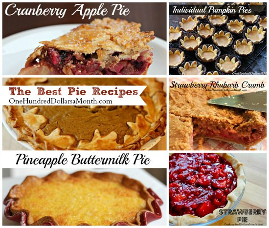 Best Thanksgiving Pies Recipes  Thanksgiving Recipes The Best Pie Recipes e Hundred