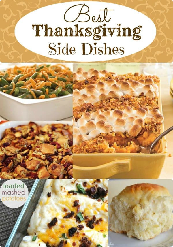 Best Thanksgiving Side Dishes Ever  Best Thanksgiving Side Dishes Classic Recipes You ll Love