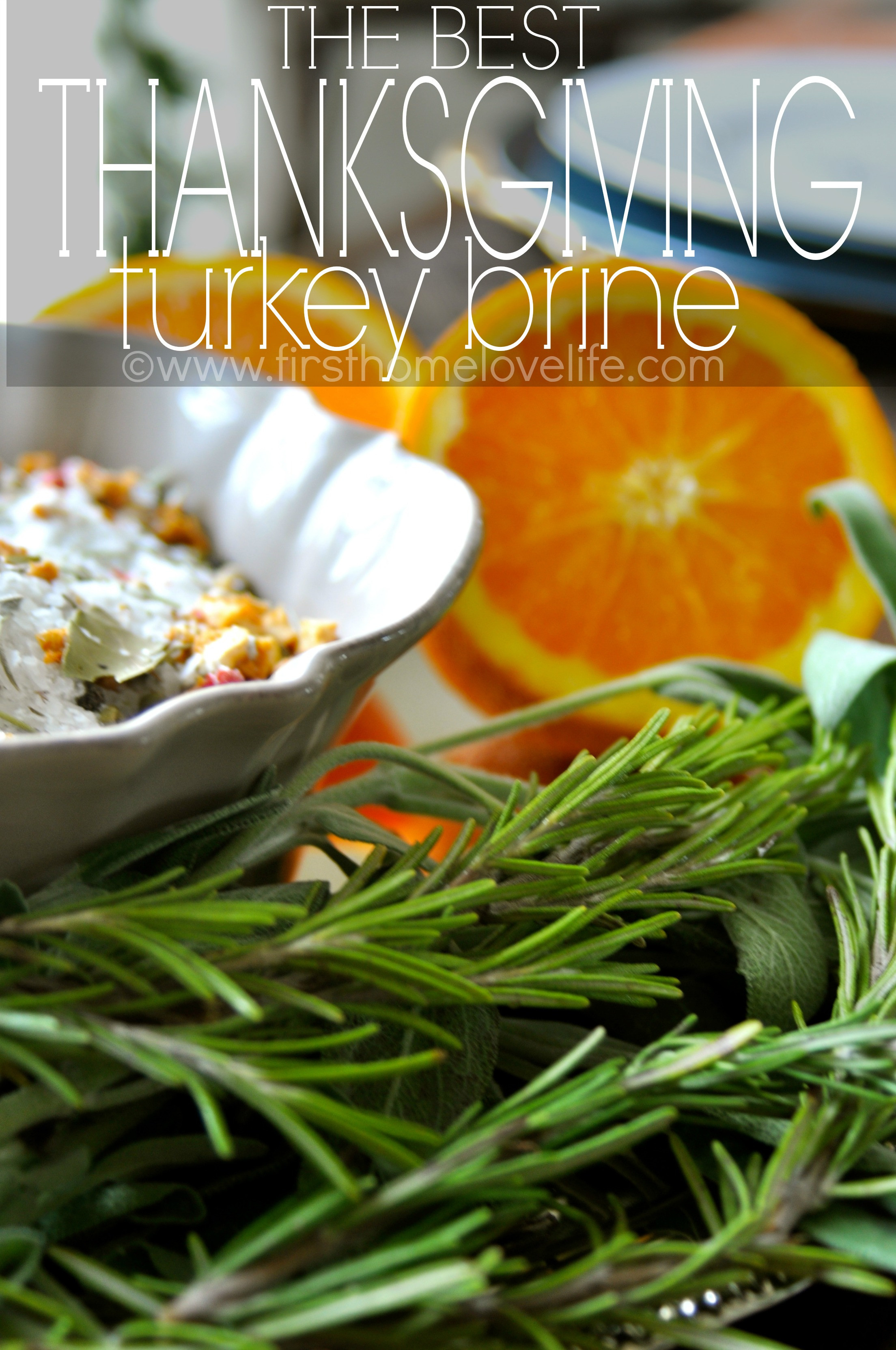 Best Thanksgiving Turkey Brine  The Best Thanksgiving Turkey Brine First Home Love Life