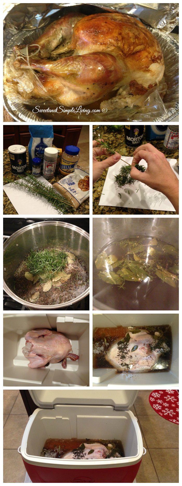 Best Thanksgiving Turkey Brine  Best Turkey Brine Recipe Sweet and Simple Living