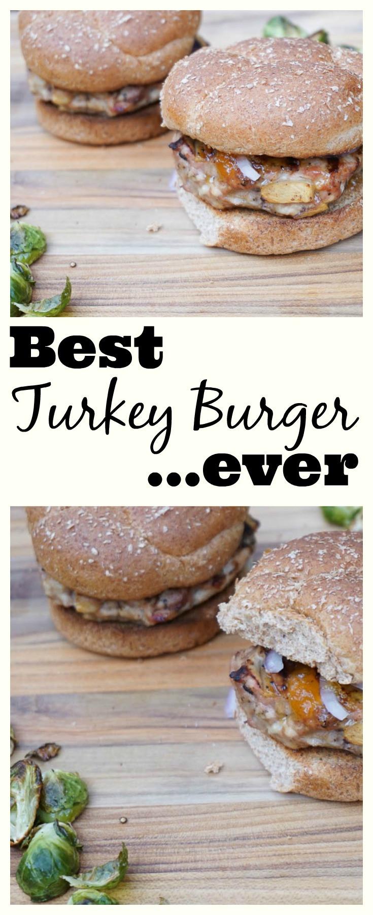 Best Thanksgiving Turkey Ever  Best turkey burger ever