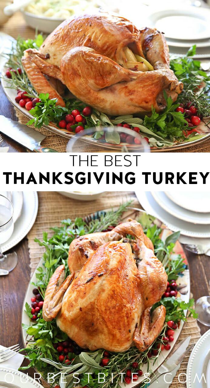 Best Thanksgiving Turkey Ever  The Best Thanksgiving Turkey