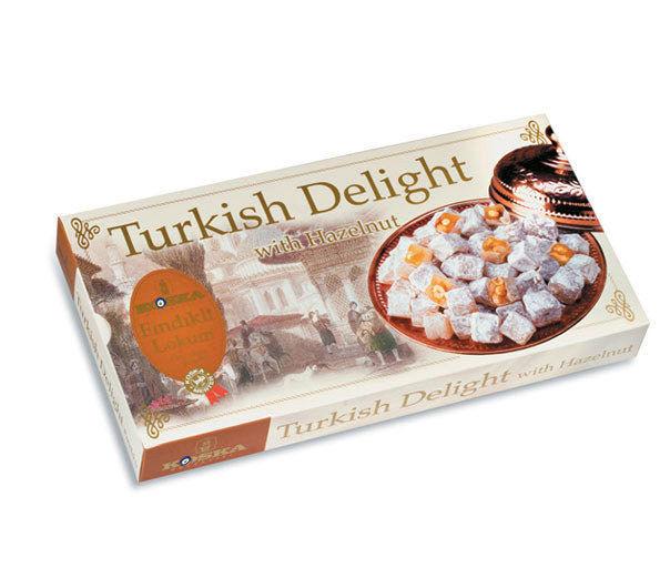 Best Turkey Brand To Buy For Thanksgiving  KOSKA TURKISH DELIGHT WITH HAZELNUT 250gr 8 82oz BEST