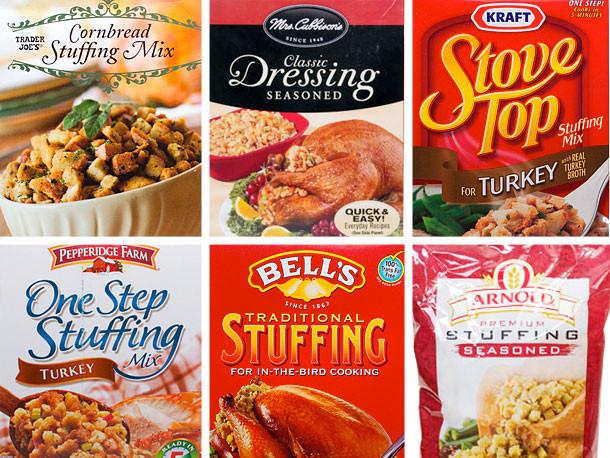 Best Turkey Brand To Buy For Thanksgiving  Storebought Stuffing Taste Test