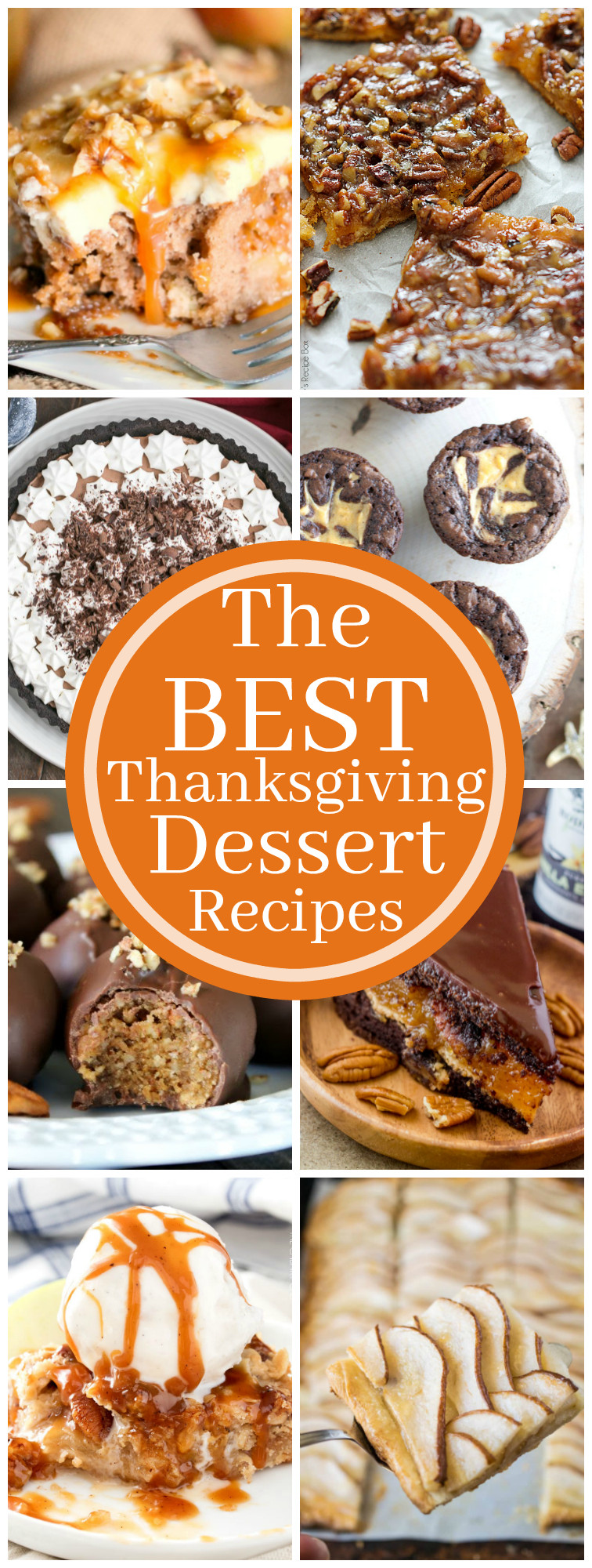Best Turkey Recipes For Thanksgiving  The Best Thanksgiving Dessert Recipes The Chunky Chef