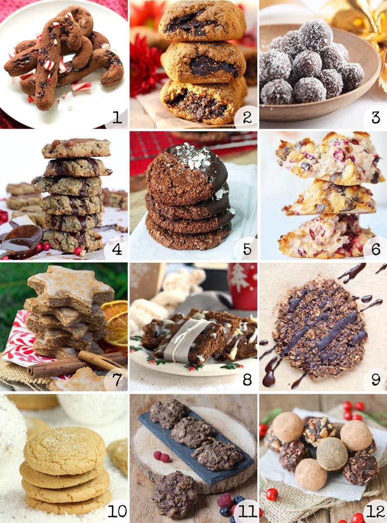 Best Vegan Christmas Cookies  Easy Vegan Cranberry Dark Chocolate Truffles Veggies Don