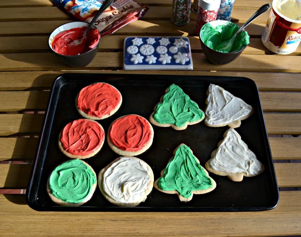 Betty Crocker Christmas Sugar Cookies  Easy Decorated Christmas Cookies with Betty Crocker Sugar