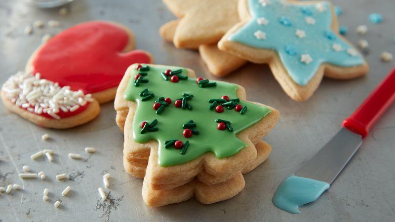 Betty Crocker Christmas Sugar Cookies  Easy Christmas Sugar Cookie Cutouts recipe from Betty Crocker