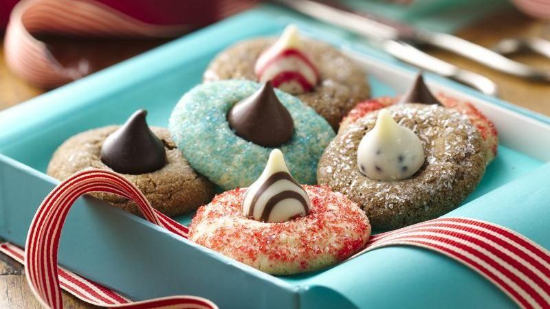 Betty Crocker Christmas Sugar Cookies  Holiday Blossom Cookies recipe from Betty Crocker