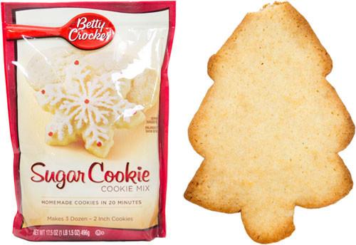 Betty Crocker Christmas Sugar Cookies  Taste Test Holiday Sugar Cookie Baking Mixes