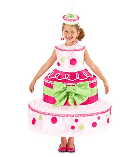Birthday Cake Halloween Costume  Color CCFF99 Design Collection samorzady