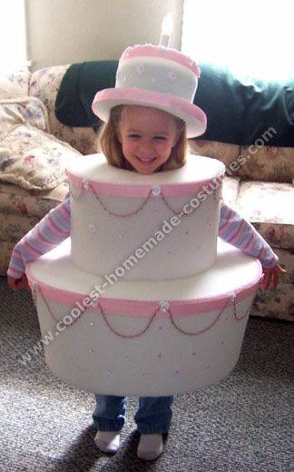Birthday Cake Halloween Costume  Coolest Homemade Halloween Costume Ideas Holidays
