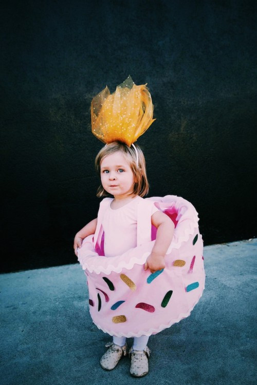 Birthday Cake Halloween Costume  DIY Birthday Cake Halloween Costume For Girls Shelterness