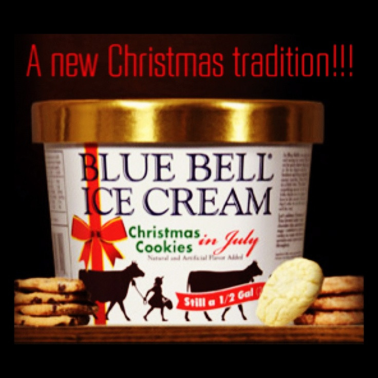 Blue Bell Ice Cream Christmas Cookies  28 best images about Bluebell Ice cream on Pinterest