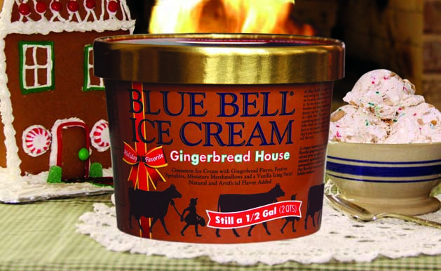 Blue Bell Ice Cream Christmas Cookies  Savoury Table Getting Creative with Seasonal Flavors from