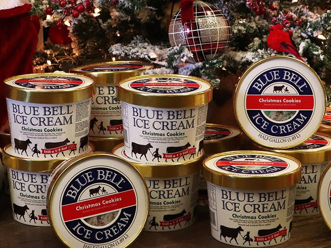 Blue Bell Ice Cream Christmas Cookies  Blue Bell Wel es Back Christmas Cookies Ice Cream For