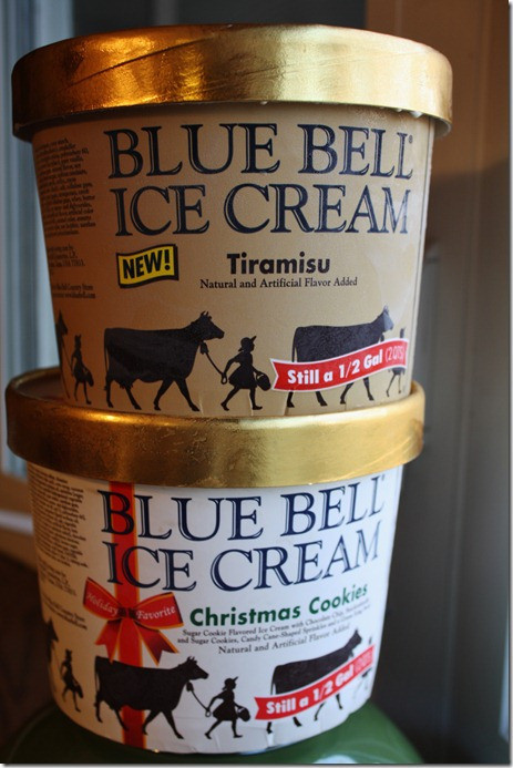 Blue Bell Ice Cream Christmas Cookies  can't leave 'em alone bars