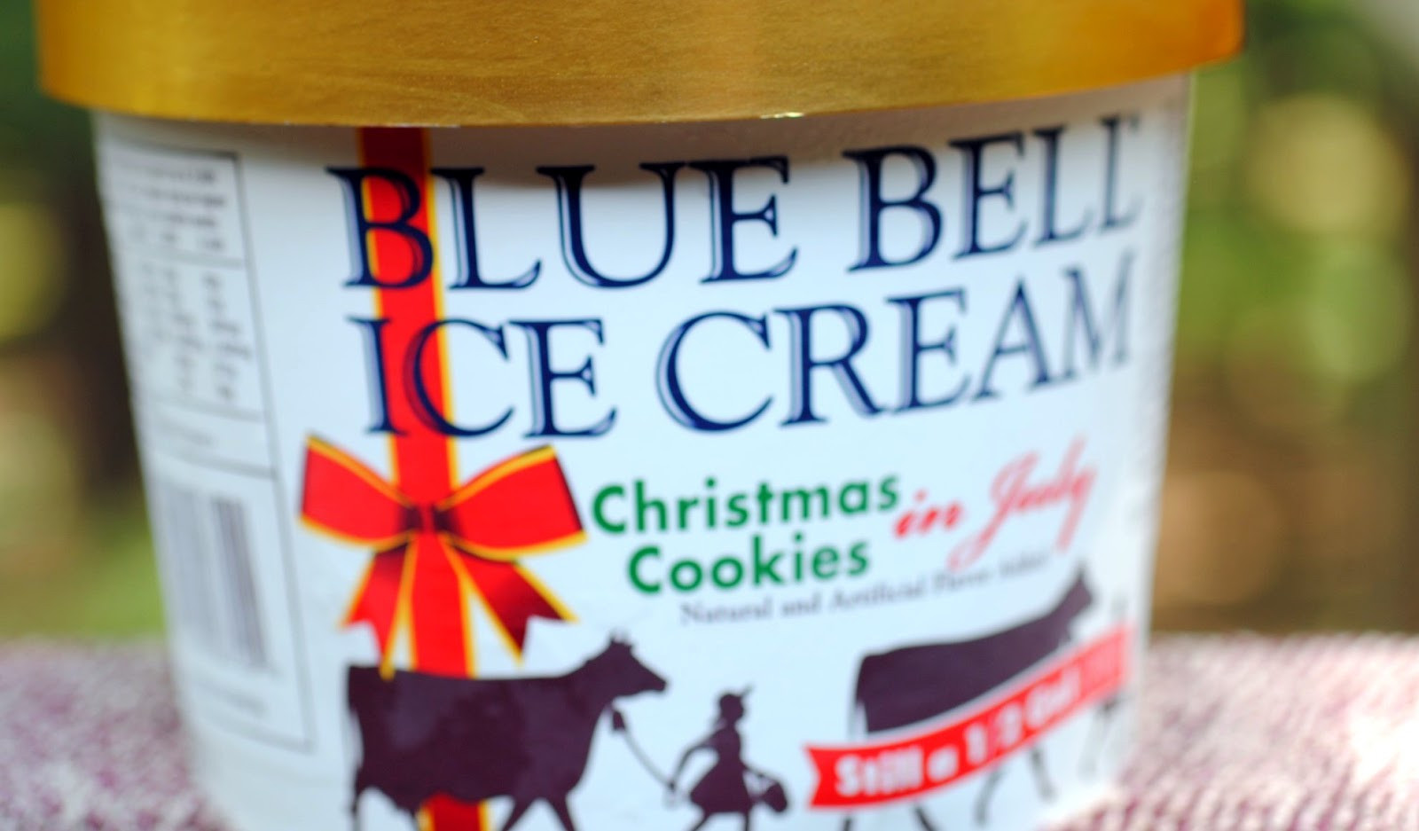 Blue Bell Ice Cream Christmas Cookies  food and ice cream recipes REVIEW Blue Bell Christmas