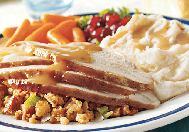 Bob Evans Thanksgiving Dinner  Buy e Dinner Entree And 2 Drinks Get e Dinner Entree