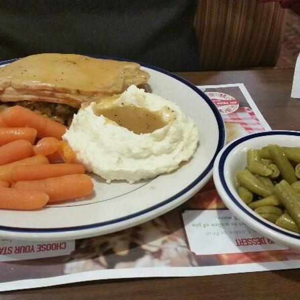 Bob Evans Thanksgiving Dinners  Bob Evans Menu Chantilly Virginia Foodspotting