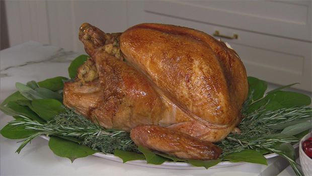 Bobby Flay Thanksgiving Turkey Recipe  Recipe Bobby Flay s Herb Roasted Turkey CBS News