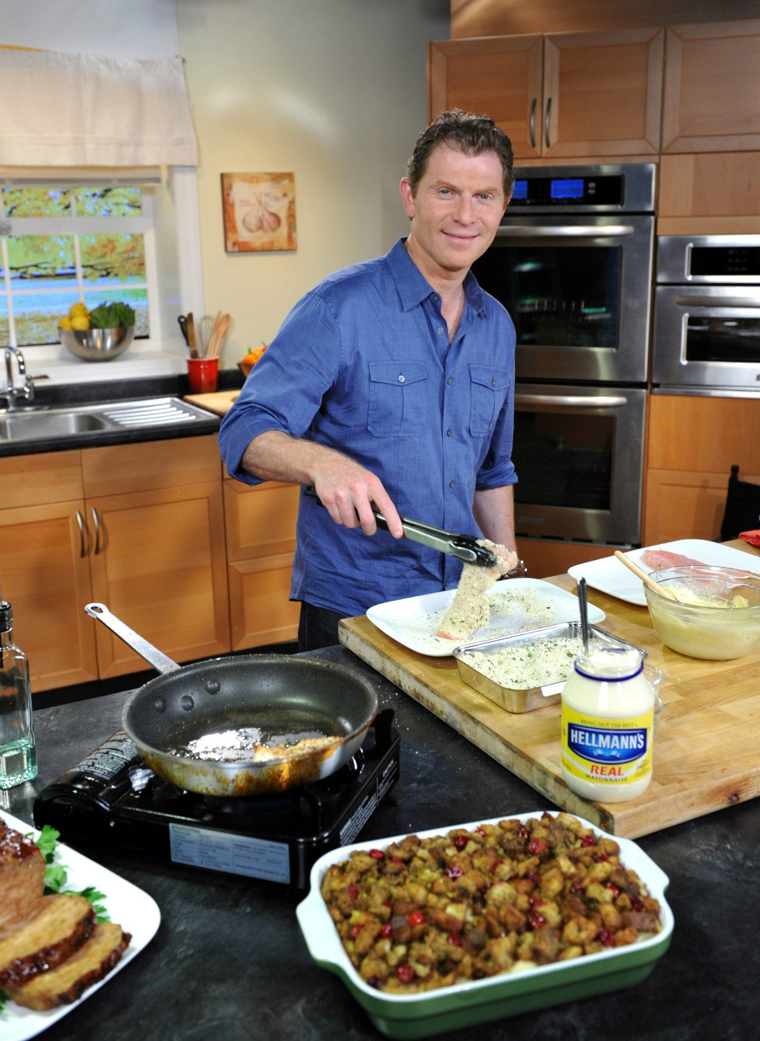 Bobby Flay Thanksgiving Turkey Recipe  Hellmann s Turkey Challenge Try something different this