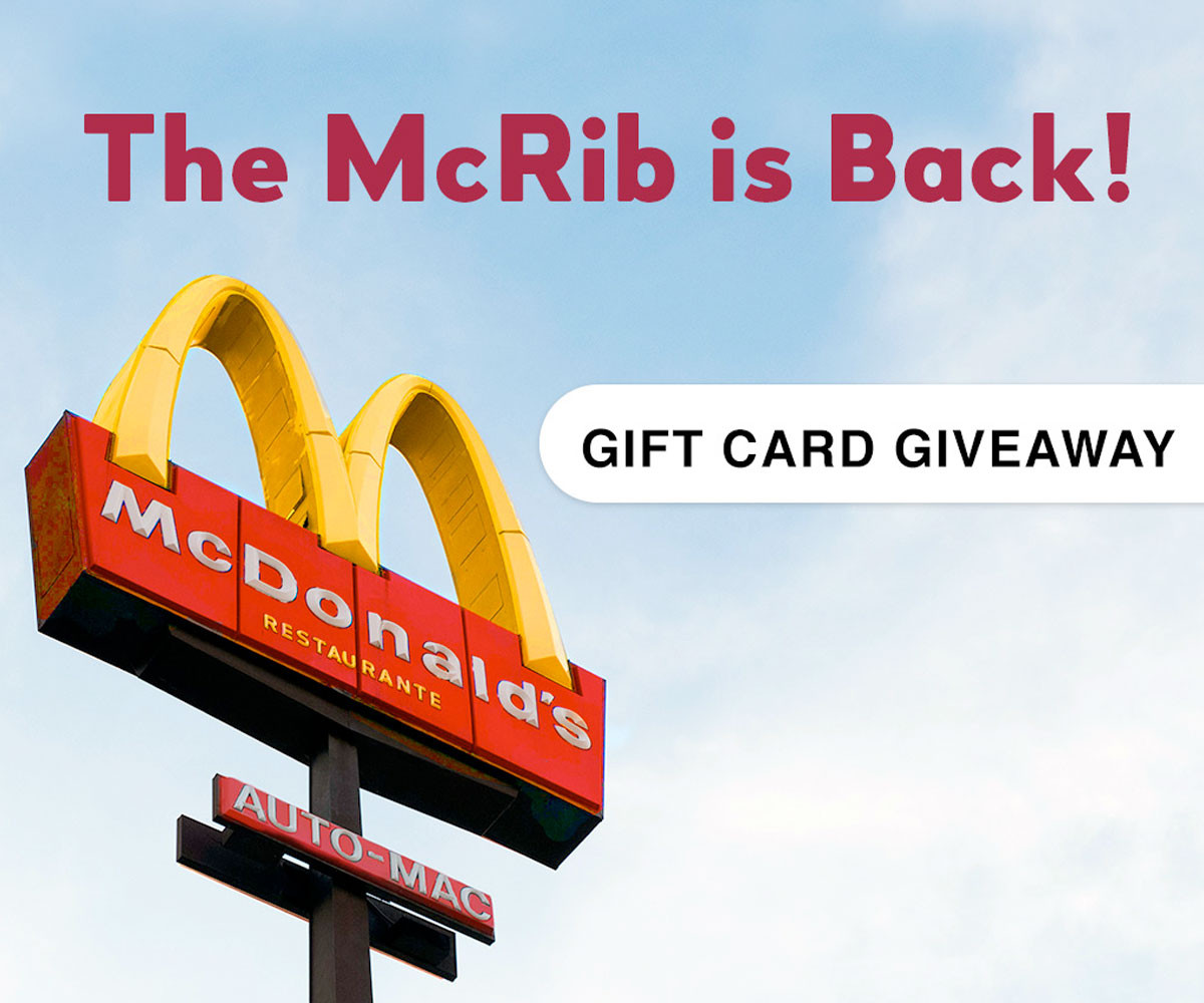 Bojangles Turkey For Thanksgiving 2019  McDonald s Gift Card Giveaway Winners River City Belle