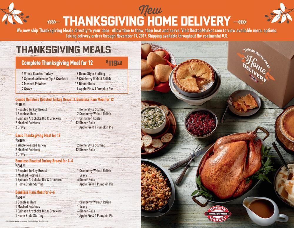 Boston Market Thanksgiving Turkey Dinner  Boston Market Is Making Thanksgiving Day Wonderful For
